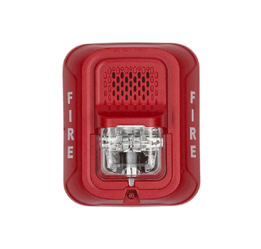 Fire alarm strobe requirements for wall-mounted strobes